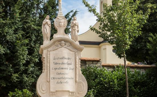 Kříž u kostela sv. Markéty, autor: Petr Hlubek
