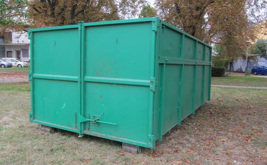 kontejner na odpad, autor: Ivana Gračková