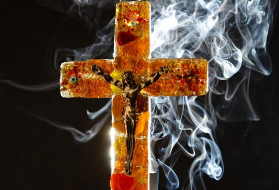 kříž, autor: Jan Mikule